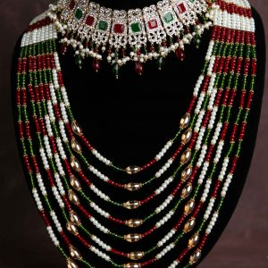 9 layers exquisite necklace set